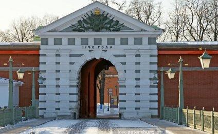 Бастионы Петропавловской