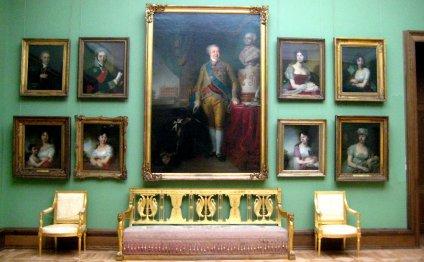 Третьяковская галерея внутри